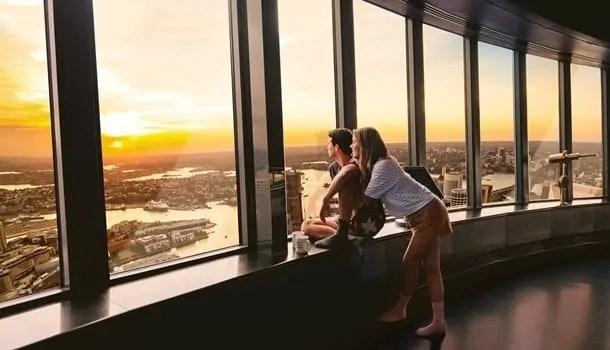Sydney Tower observation deck