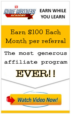 The Home Business Academy's amazing affiliate offer!