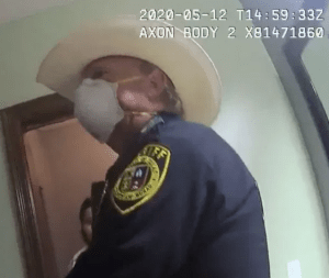 Deputy Harold Schneider in the excessive force arrest of a migrant teen