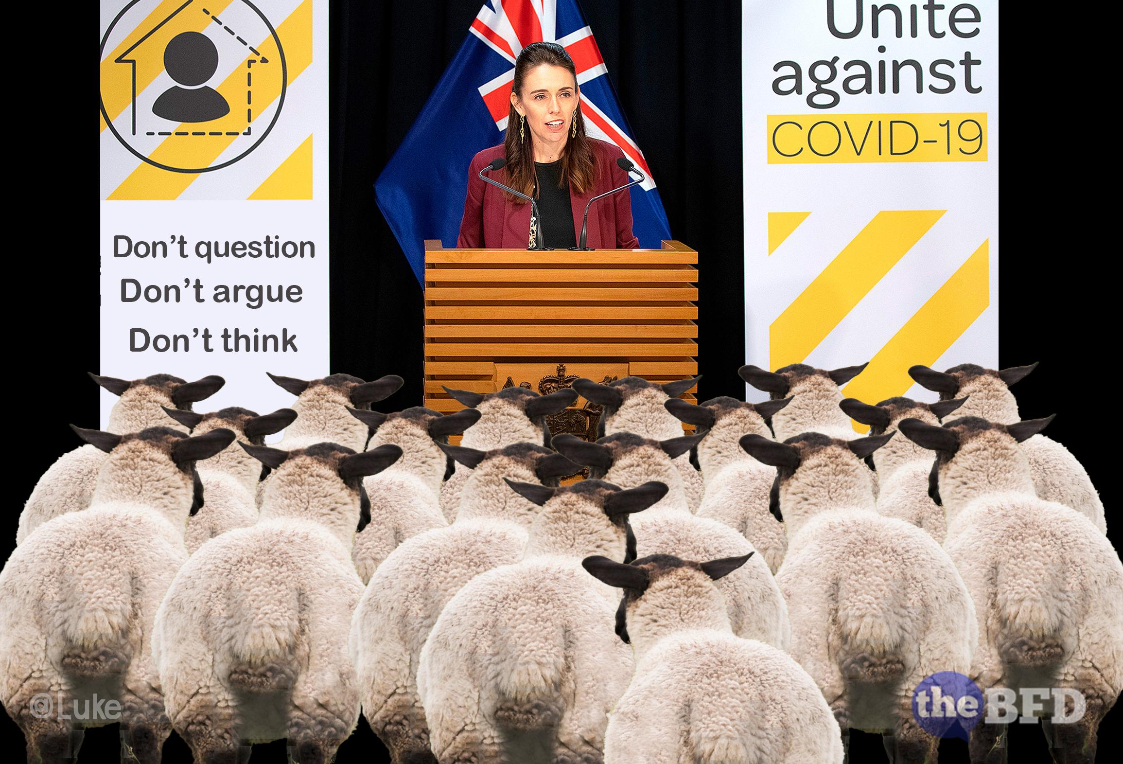 Jacinda Put New Zealanders' Health and Wellbeing Second