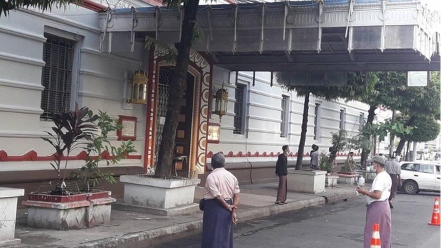 More Bombs in Yangon