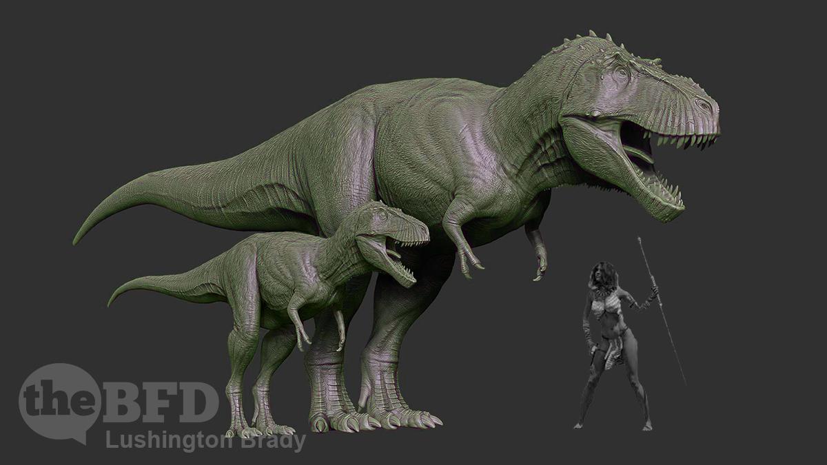 T.Rex Was Quite the Little Nipper