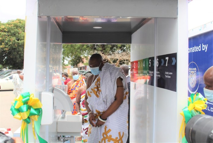 Gold Fields donates Disinfection Chambers to Ga Mantse