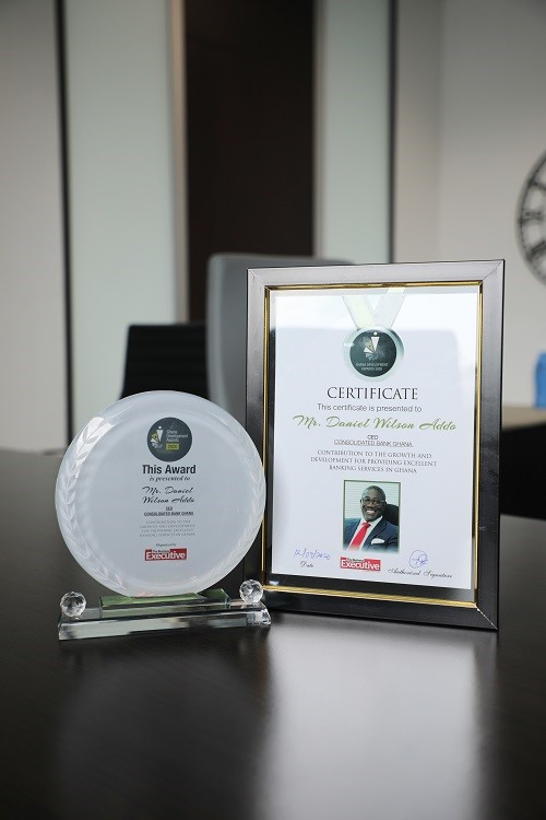 CBG MD honoured at Ghana Development Awards