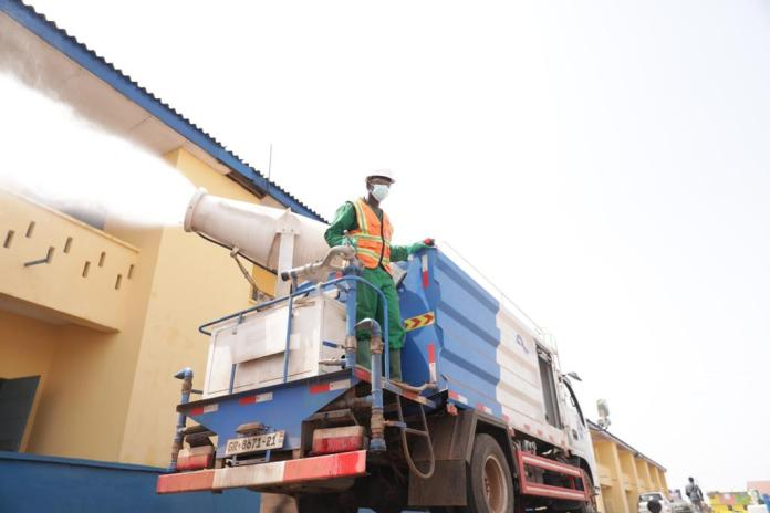 We're encouraged by disinfection of our facilities 2