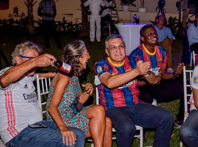 LaLiga hosts El Clásico viewing party for football lovers in Accra