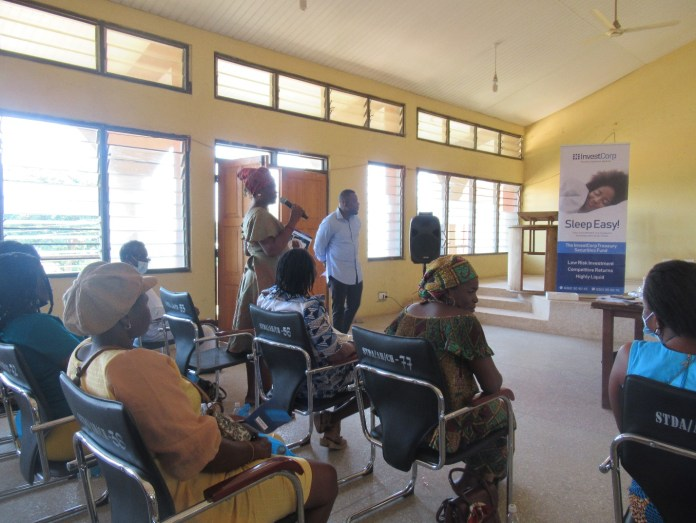 InvestCorp partners South Tongu District Assembly to offer financial planning train
