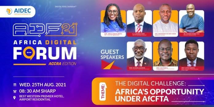 All set for maiden Africa Digital Forum tomorrow