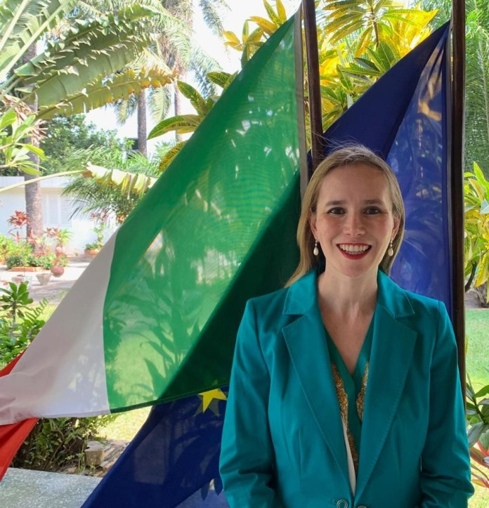Chris Koney's column: Conversation with Ambassador Daniela d'Orlandi