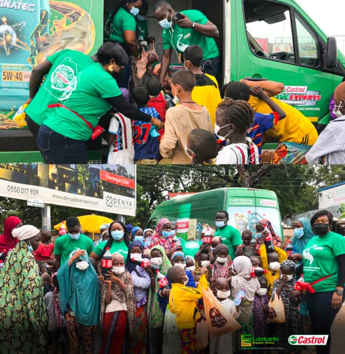 Lubricants Supplies spends time with street children