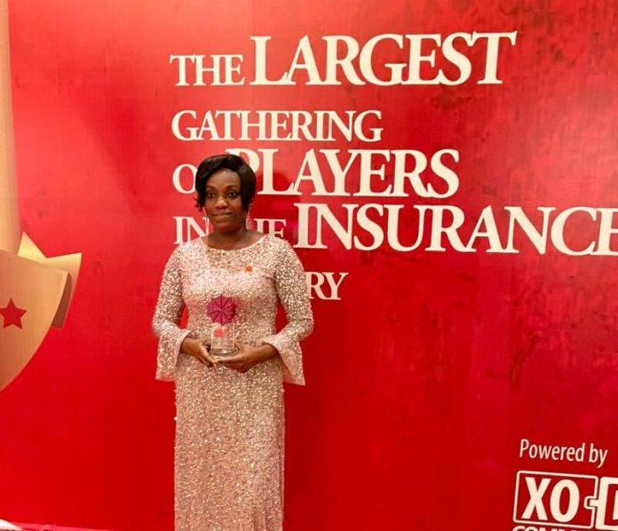 Sarah Adu-Gyan wins Agent of the Year at Ghana Insurance Awards 2021