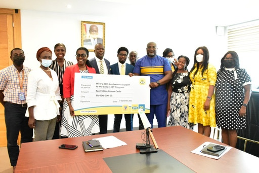 MTN provides GH¢10m to empower and expand Girls in ICT project