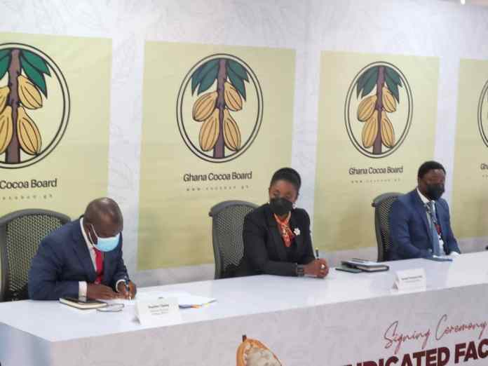 COCOBOD increases funding for 2021/2022 crop season