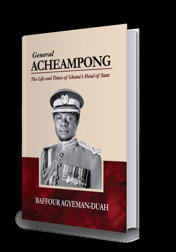 Book on the life and times of General Acheampong out on Sept 23
