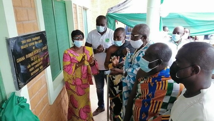 Nsein Community Health Center inaugurated by GREL