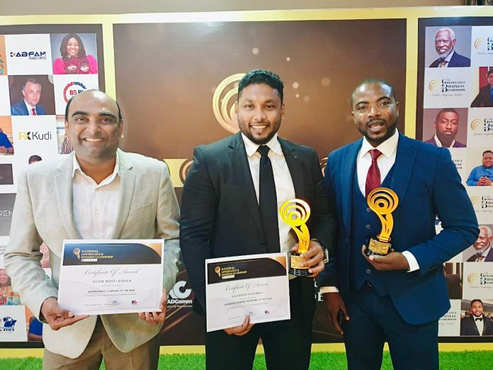 ECOM wins two at maiden National Governance and Business Leadership Awards
