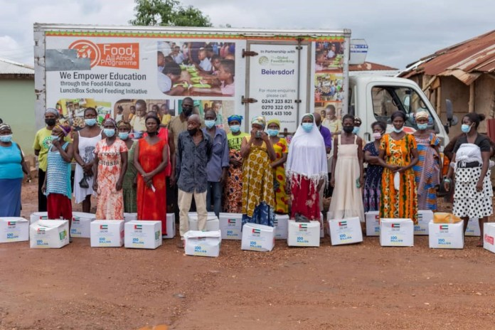 Holystic Nutrition partners Food For All Africa to support 2,000 vulnerable people in Obuasi