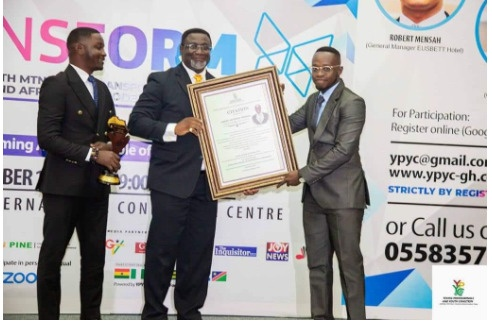 Samuel Agyeman-Prempeh wins Young Professional Role Model Award