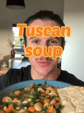 Tuscan cannellini soup