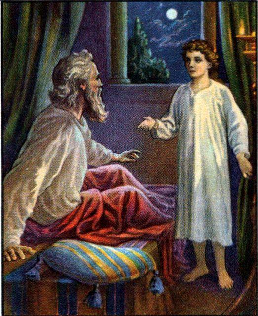 God Calls Samuel