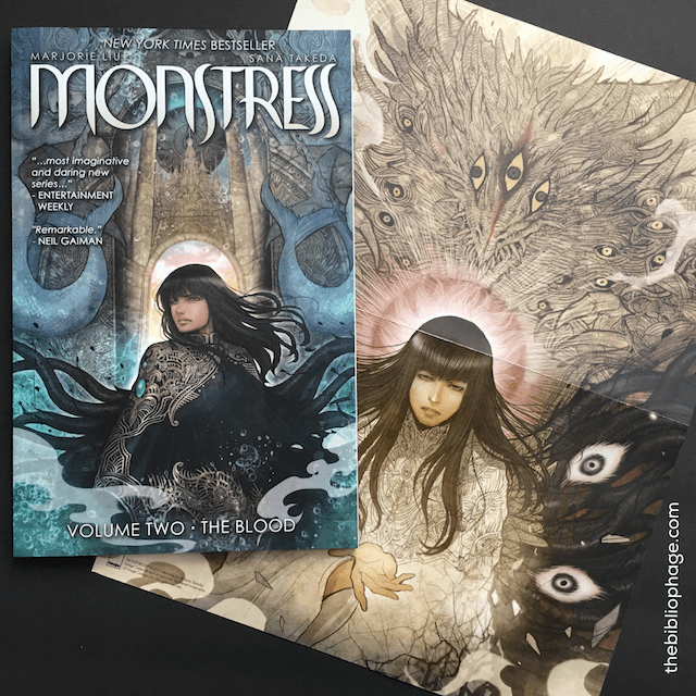 Graphic Novel Review: Monstress, Vol. 2 by Majorie Liu and Sana Takeda