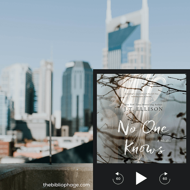 Book Review: No One Knows by J.T. Ellison