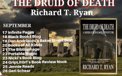 The Book Tour Stops Here: The Druid of Death: A Sherlock Holmes Adventure by Richard T. Ryan