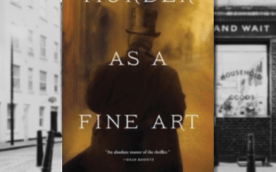 Book Review: Murder as a Fine Art by David Morrell
