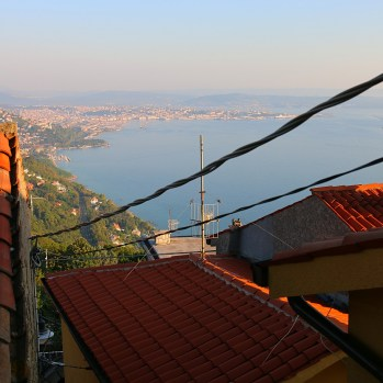 View of Trieste from rooftops