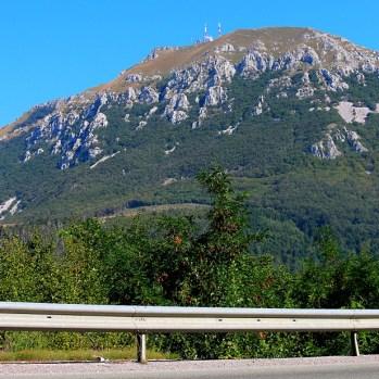 Mountain en route to Slovenian border