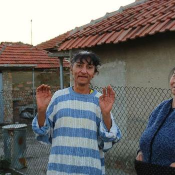 Roma people in Elhovo