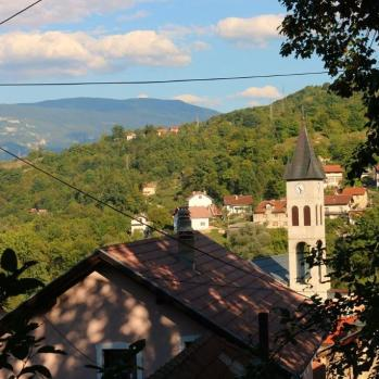 Another view from Jajce (it has some rather lovely views).