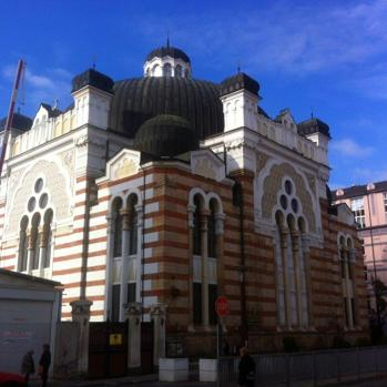 The Sofia Synagogue, the largest in Southeastern Europe, opened in 1909. It can accommodate 1,300 worshippers, but reportedly only attracts a few dozen due to due to the exodus of most of Bulgaria's Jews to Israel and the secularity of the local Jewish population.