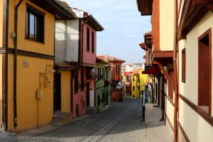 Eskisehir old town, both touristy and authentic.