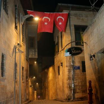 Atmospheric Gaziantep back streets.