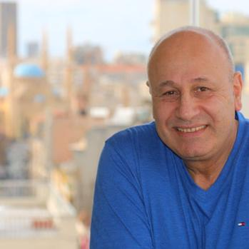 An old friend, a Beirut businessman and property developer. He also lives in Gemmayzeh, in the penthouse suite of a high rise block he built himself. Lebanon is politically a 'disaster', he tells me. 'Everything's ground to a halt. Parliament is not even meeting anymore because nobody can agree on anything.'