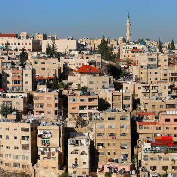 Amman cityscape, from host's balcony.