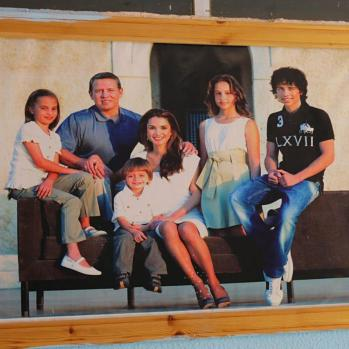 A picture of King Abdullah II and his family. Everyone seems to love them here, despite the fact the Hashemites have ruled Jordan since 1921. Basically a benevolent dictatorship.