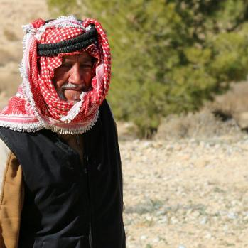 Feel apprehensive cycling through the Ma'an Governorate, one of the most conservative regions of Jordan where ISIS flags have been known to be raised. But all seems friendly enough and attract only smiles and waves.