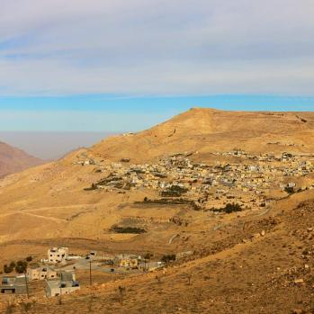 Stunning views en route to Wadi Rum: my final stop before the coast.