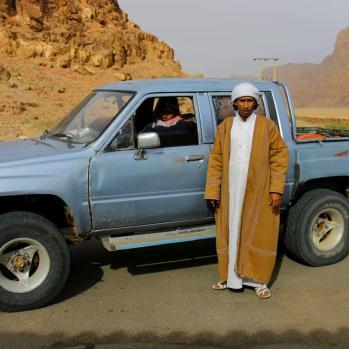 Finally make it to Wadi Rum, and am gently accosted by a few locals keen for me to stay in their camp. I stick to the recommendation I got from Ali at Al-Nawatef, however.