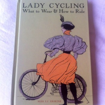 An invaluable guide to ladies' cycling etiquette, sent to me by my friend. The back states: '