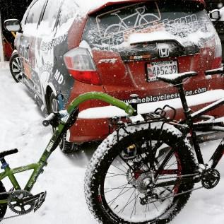 Snow Bike Trailer