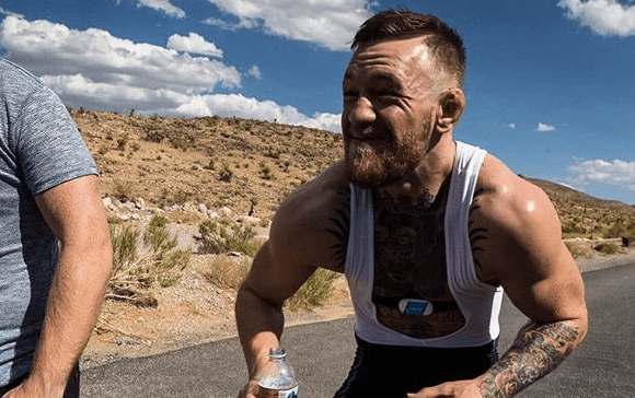 Conor McGregor   Wahoo Fitness Product Placement