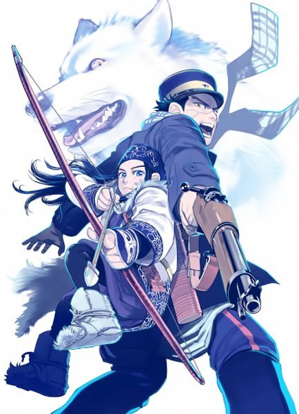 Golden Kamuy Poster 2