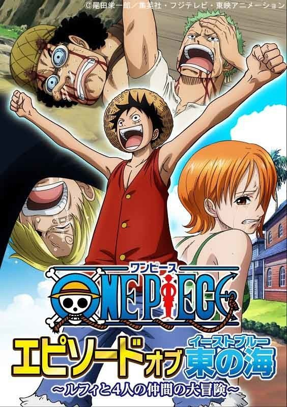 """One Piece """"Episode of East Blue"""" Poster"""