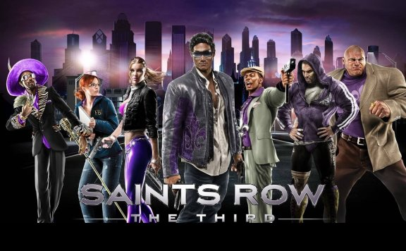 Saints Row Third Game Giveaway