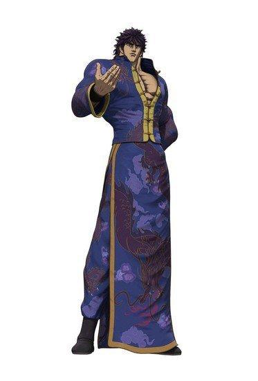 Fist of the Blue sky new key visuals - Kenshiro