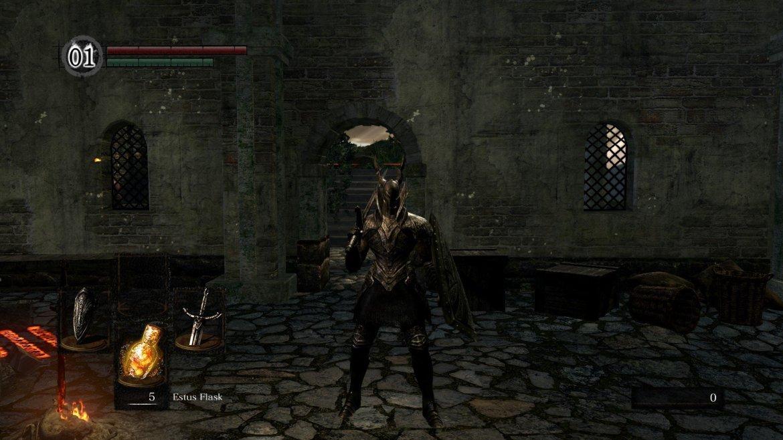 dark souls remastered network test Black Knight Set