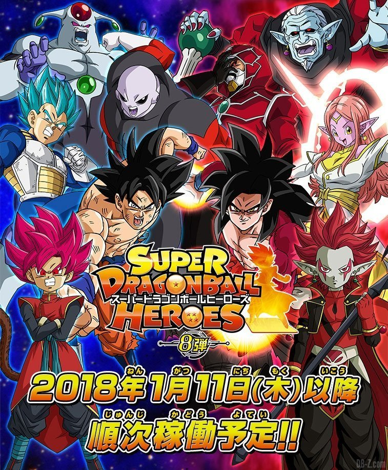 Dragon Ball Manga Tournament Of Power: Dragon Ball Heroes Arcade Card Game Receives An Anime Adaption
